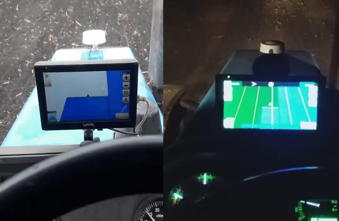 Агрокурс навігатор для кропіння у тракторі